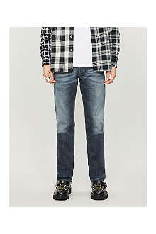 DIESEL Safado regular-fit mid-rise jeans
