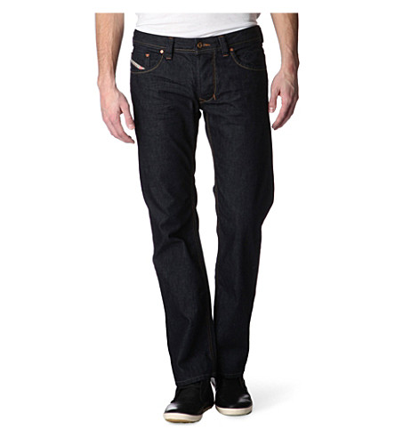 DIESEL Larkee 08Z8 regular-fit straight jeans (Indigo