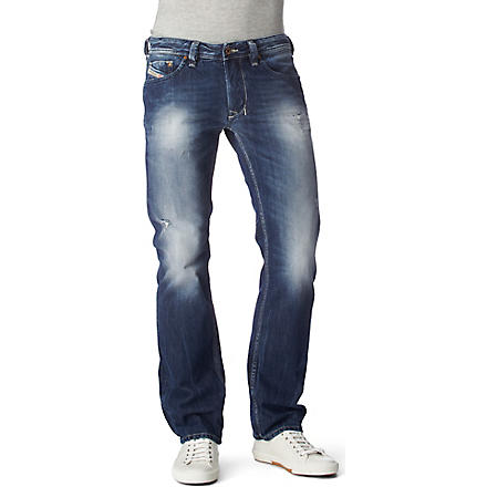 DIESEL Larkee 08B9 regular-fit straight jeans (Blue