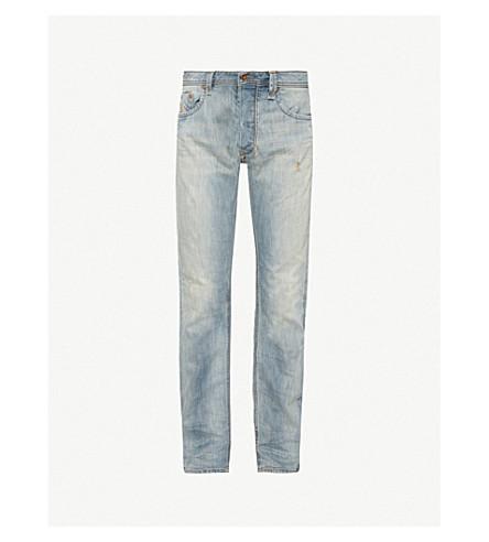 DIESEL Larkee-Beex 常规版型牛仔裤 (靛蓝