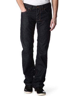 DIESEL Larkee 0878 regular-fit straight jeans