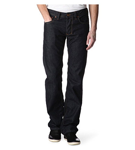 DIESEL Larkee 0878 regular-fit straight jeans (Indigo