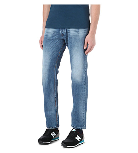 DIESEL Darron slim-fit tapered jeans (01 (denim)