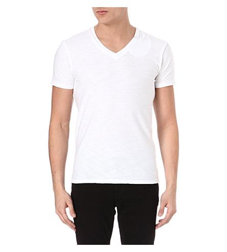 DIESEL Tos v-neck t-shirt (100 (white)