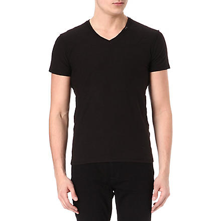 DIESEL Tos v-neck t-shirt (900 (black)
