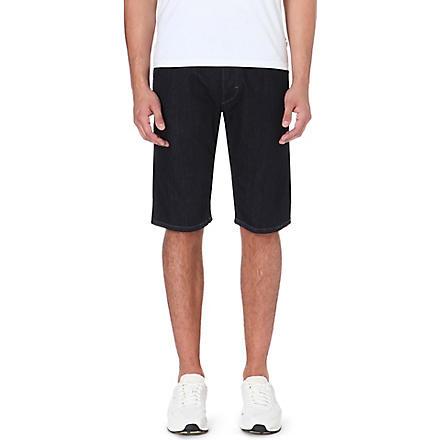 DIESEL Kroshort stretch-denim shorts (Blue