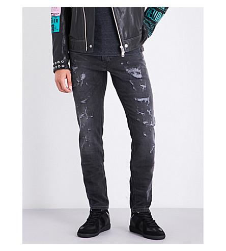 DIESEL Tepphar slim carrot-fit skinny jeans (Dark wash grey