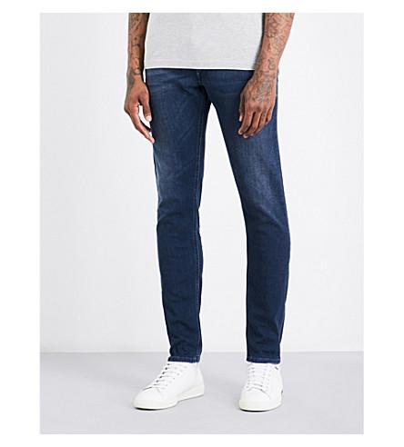 DIESEL Tepphar 修身版型中腰牛仔裤 (中 + 洗 + 蓝