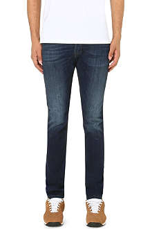 DIESEL Tepphar 0814W slim-fit tapered jeans L30