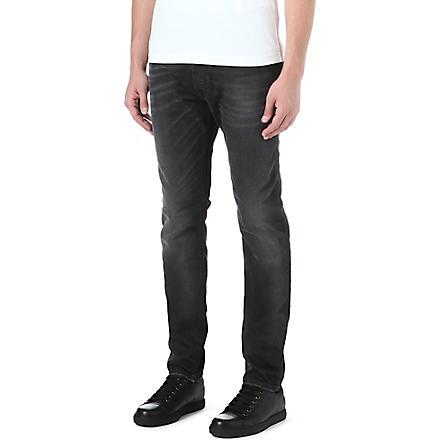 DIESEL Tepphar slim-fit tapered jeans (02 (black)