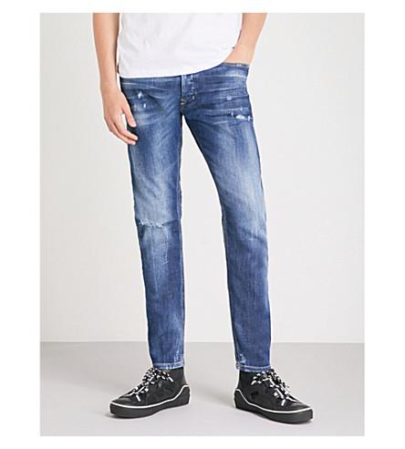 DIESEL Tepphar slim-fit distressed jeans (Denim