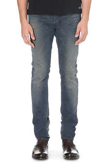 DIESEL Tepphar distressed slim jeans