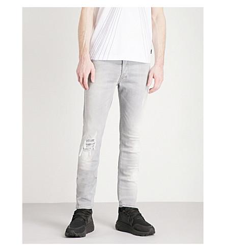 DIESEL Tepphar slim-fit tapered jeans (Grey