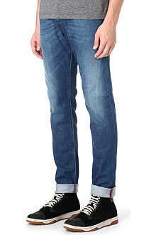 DIESEL Slim carrot-fit straight jeans