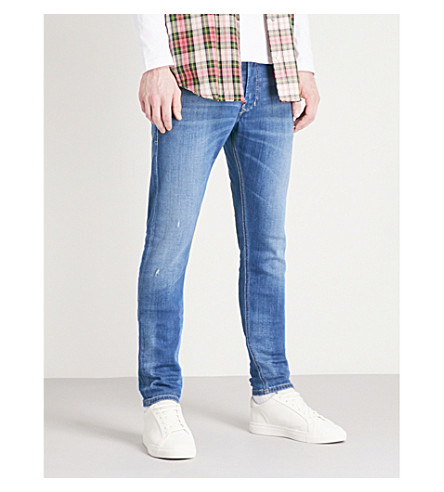 DIESEL Tepphar slim-fit tapered jeans (Denim