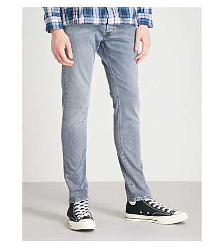 DIESEL Tepphar slim-ft tapered jeans (Grey