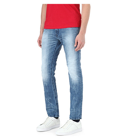 DIESEL Thavar slim-fit tapered jeans (01