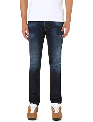 DIESEL Thavar 0831Q skinny-fit tapered jeans L30