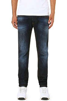 DIESEL Thavar slim-fit tapered denim jeans
