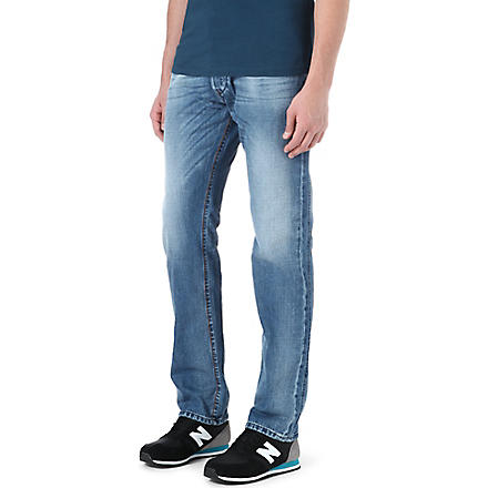 DIESEL Iakop slim-fit tapered jeans (01+(denim)