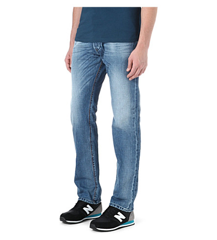 DIESEL Iakop slim-fit tapered jeans (01 (denim)