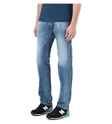 DIESEL Iakop slim-fit tapered jeans (01 (denim)