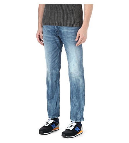 DIESEL Iakop slim-fit tapered jeans (1
