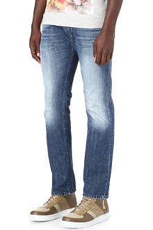 DIESEL Iakop 0817C slim-fit tapered jeans