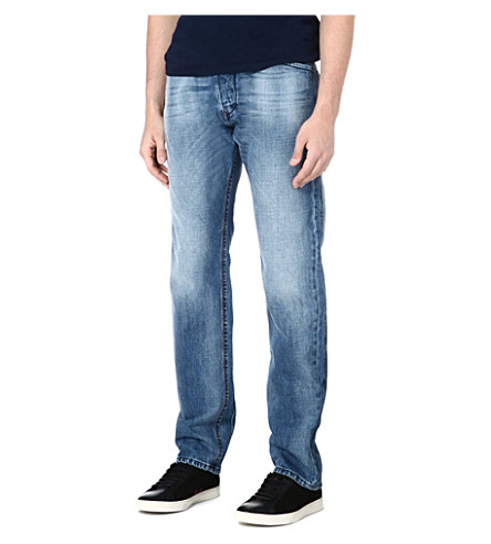 DIESEL Darron regular-fit tapered jeans (01 (denim)