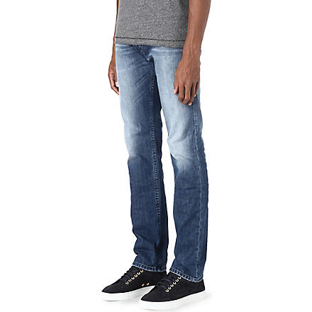 DIESEL Regular slim-fit tapered jeans (Blue