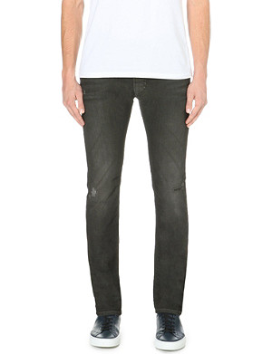 DIESEL Thavar 0830H slim-fit skinny low-rise stretch-denim jeans