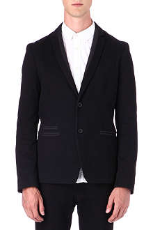 DIESEL Triple twisted twill blazer