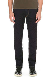 DIESEL Krooley 0600V tapered low-rise stretch-denim jeans