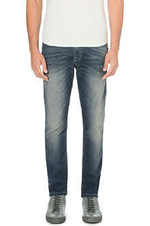 DIESEL Krooley 0609U tapered low-rise stretch-denim jeans