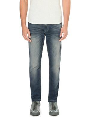 DIESEL Krooley 0609U tapered low-rise stretch-denim jeans