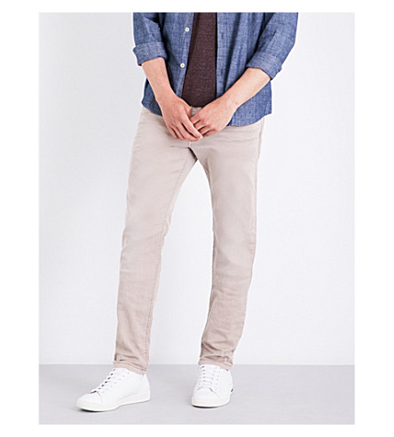 DIESEL Krooley carrot-fit tapered jogg jeans (Grey