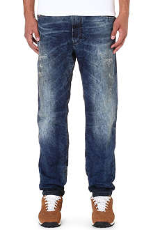 DIESEL Narrot-ne 0607W regular-fit tapered jogg jeans