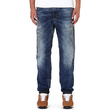 DIESEL Narrot-ne 0607W regular-fit tapered jogg jeans (Blue