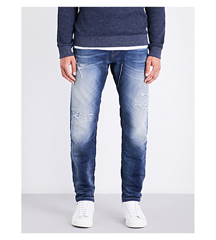 DIESEL Narrot-ne relaxed-fit tapered jogg jeans (Light+wash+blue