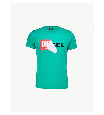 DIESEL T-Diego-Qa cotton-jersey T-shirt (Bosphorus