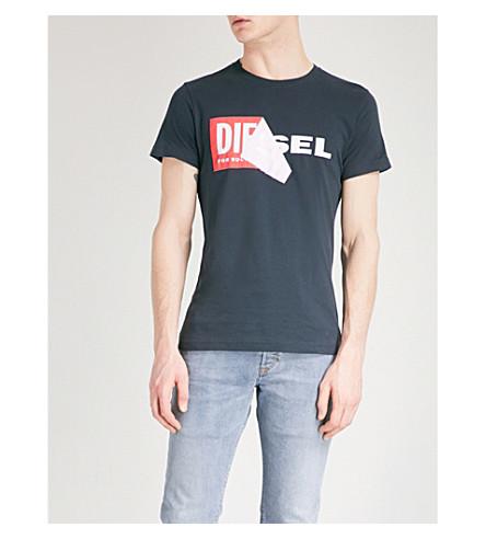 DIESEL T-Diego-Qa cotton-jersey T-shirt (Total+eclipse