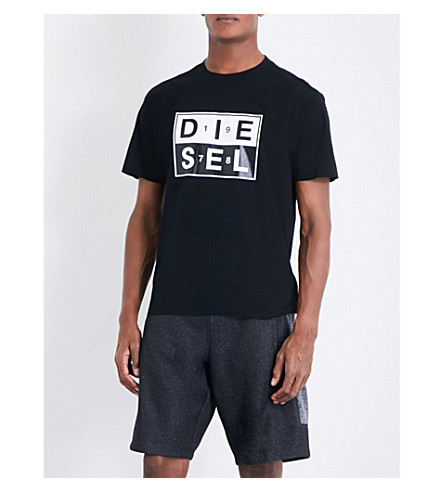 DIESEL T-Wallace-QA T-shirt (Black