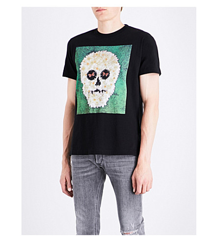 DIESEL T-Joe-Qm cotton-jersey T-shirt (Black