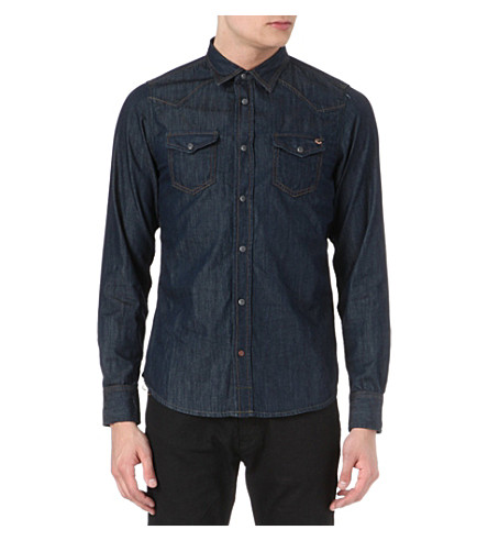 DIESEL Sonora denim shirt (01 (denim)