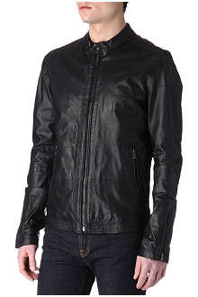 DIESEL Lagnum leather jacket