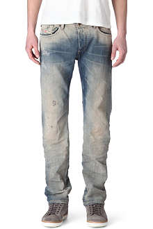DIESEL Waykee 0811A regular-fit straight jeans