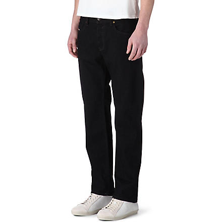 DIESEL Waykee regular-fit straight jeans (Black