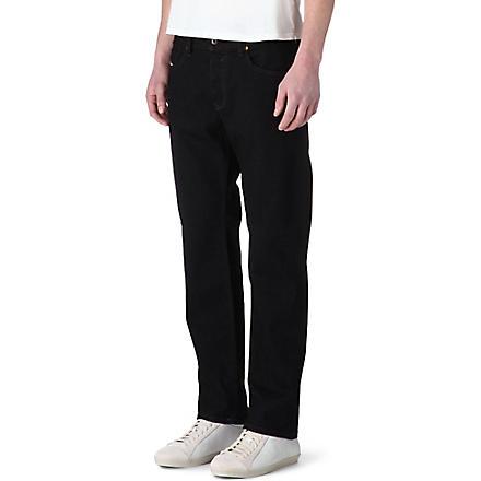 DIESEL Waykee regular-fit straight jeans (Black