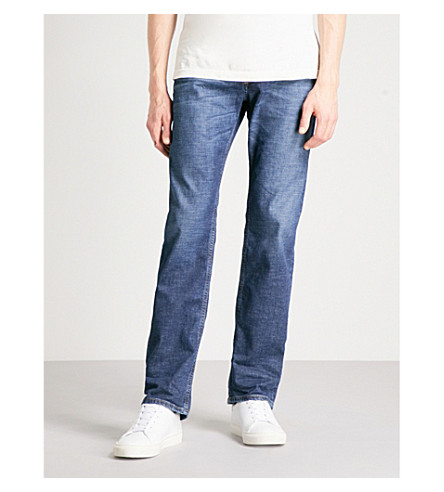 DIESEL Waykee regular-fit straight jeans (Denim