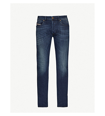 DIESEL Waykee regular-fit straight mid-rise jeans (Denim